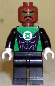 Superhero custom Lego minifig Jon Stewart Green Lantern