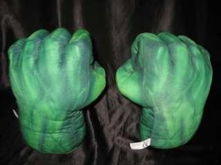 Incredible Hulk Talking Sound Effects Smash Gloves Hands ~ Halloween