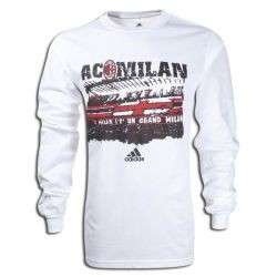 and 100% Original adidas AC MILAN Long Sleeve Bernabeu Fan Shirt