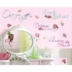 Disney Princess Quotes Wall Decals