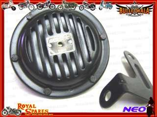 ROYAL ENFIELD 12 VOLT BLACK HORN #141732 BRAND NEW