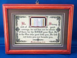 Bible,Verses,Scripture,Framed,Plaques,Christian Gifts (Put Your Own