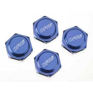 OFNA Racing Cap Nut, Wheel, CNC 17mm, Blue Toys & Games