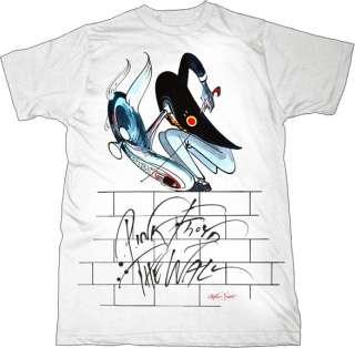 Pink Floyd   Teacher The Wall   Small T Shirt