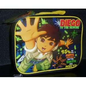 Go Diego Go To The Animal Rescue Lunch Bag Tote: Toys & Games