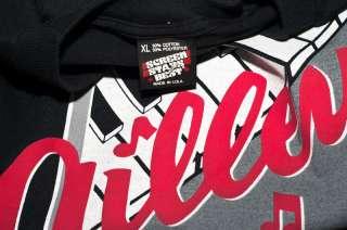 ) XL vtg. SCREEN STARS gilleys music row nashville black 50/50 SHIRT