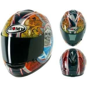 Suomy Spec 1R Motorcycle Helmet Ben Bostrom