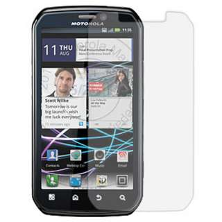 Motorola Photon 4G MB855 Sprint Silver Diamond Bling Hard Case Cover