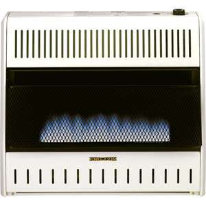 Blue Flame Vent Free Space Heater with Thermostat