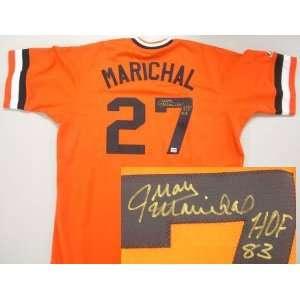 Juan Marichal Signed San Francisco Giants Cooperstown