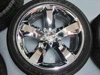 clean set of Take Off Factory 2012 Challenger Chrome Clad 20 wheels