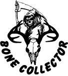Bone Collector Whitetail Deer Hunting window Decal Sticker Hoyt PSE