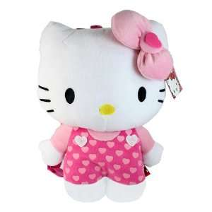 NWT Sanrio Hello Kitty Pink with Heart Outfit Plush