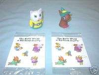 Taco Bell 1993 Richard Scarry Complete Set of 4