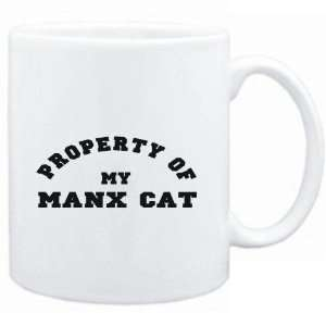 Mug White  PROPERTY OF MY Manx  Cats