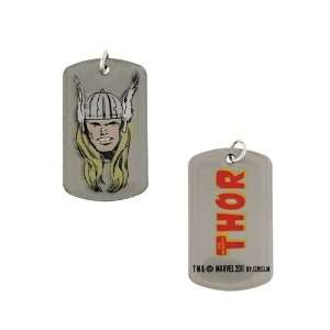 Thor Head Dog Tag Pendant Necklace Everything Else