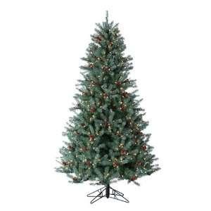Diamond Fir Artificial Christmas Tree   Clear Lights