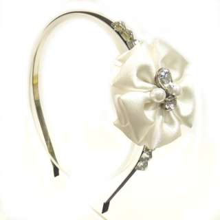 Hollywood star sweet flower cubic Hair band Headband WH