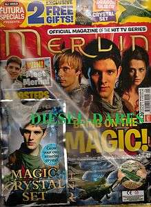 THE OFFICAL MAGAZINE ISSUE 1 COLIN MORGAN BRADLEY JAMES NEW AND SEALED