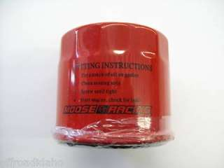 MOOSE OIL FILTER SUZUKI 500 QUADRUNNER QUADMASTER 4WD