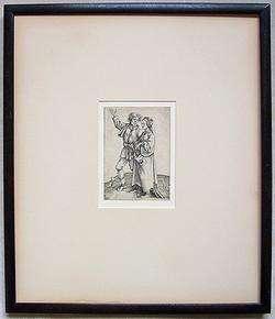 ALBRECHT DURER Original Vintage 1497 Engraving