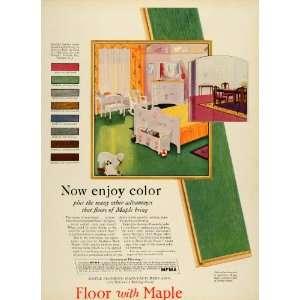 Baby Room Pastel Green N. 107   Original Print Ad