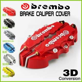 3D Brembo brake caliper Mercedes Benz B G CL CLS Red