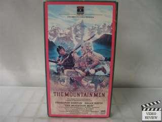 Mountain Men, The * VHS Charlton Heston, Brian Keith