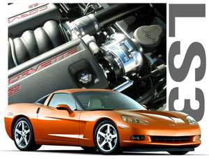 HO Intercooled Supercharger 2008 11 C6 Corvette & Grand Sport LS3 V8