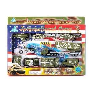 Toy Military International Army Toy Play Set   10 Pieces