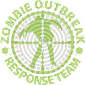 Zombies Outbreak Response Team Vinyl Decal Everything