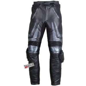 MOTORCYCLE RACING ARMOR SLIDER LEATHER PANT PANTS 30 Automotive