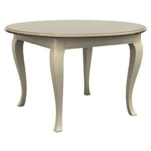 Round Oval Table with 30 Cabriole Legs in Buttermilk: Home & Kitchen