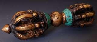 & Turquoise Lotus Vajra Dorje Tibet Buddhist lot versions
