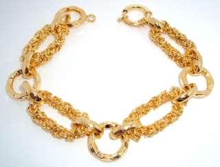 technibond byzantine bracelet 14k gold silver  technibond jewelry