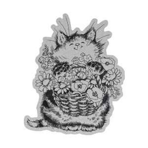 Penny Black Cling Rubber Stamp 4X6 Merci Bouquet
