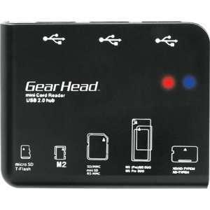 Gear Head CR7500H 58 in 1 USB 2.0 Flash Card Reader/USB
