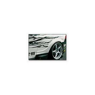 wide fender for Acura RSX DC5 REAR FENDER (Fiberglass) Automotive