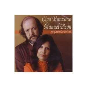 18 Grandes Exitos OLGA MANZANO/MANUEL PICON Music