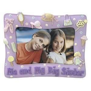 Me and My Big Sister Colorful Dimensional Picture Frame, 6