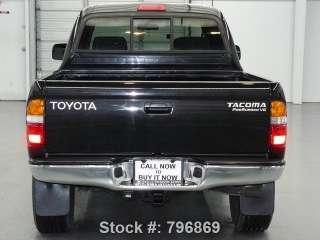 2001 Toyota Tacoma SR5 Double Cab   PreRunner   3.4L V6   Auto