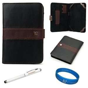 Dauphine Edition Black Brown Executive Leather Folio Case