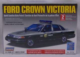 25 SCALE FORD VICTORIA NORTH CAROLINA STATE POLICE CAR NEW IN PACKAGE