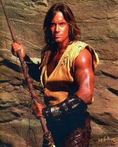 HERCULES LEGENDARY JOURNEYS KEVIN SORBO 8X10 POSTCARD |