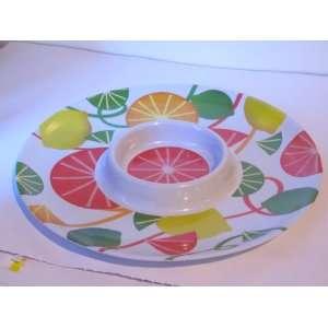 Melamine Chip and Dip Platter 12 Fruit Design: Everything Else
