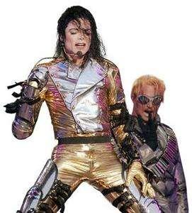 MICHAEL JACKSON Mens World History Tour JACKET + PANTS