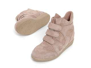 SPM 322553 Women Shoes Althletic Basketball High Top Sneakrers Beiges