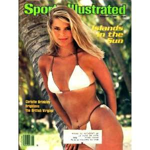 Christie Brinkley Unsigned Sports Illustrated Magazine   February 4