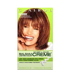 Clairol Balsam Lasting Color Creme Hair Color Light Bronze Brown (608B