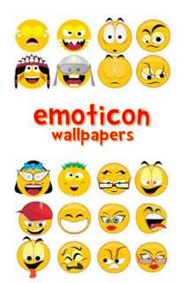 App Store   Emoticon Wallpapers!